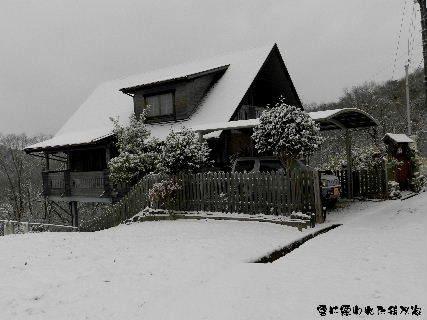2015-01・03 雪に覆われた我が家.JPG