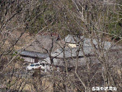 2016-03・12 今朝の古民家.JPG